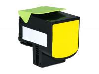 Bild fuer den Artikel TC-LEX310ye: Alternativ Toner LEXMARK 800S4 802SY 80C0S40 80C2SY0 in gelb