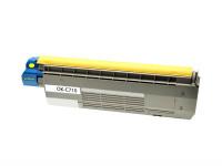 Bild fuer den Artikel TC-OKI710ye: Alternativ Toner OKI 44318605 in gelb