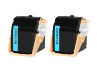 Bild fuer den Artikel TC-XER7100cy_S2: Alternativ Toner Doppelpack XEROX 106R02602 in cyan (2 Stk.)