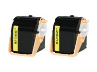 Bild fuer den Artikel TC-XER7100ye_S2: Alternativ Toner Doppelpack XEROX 106R02604 in gelb (2 Stk.)