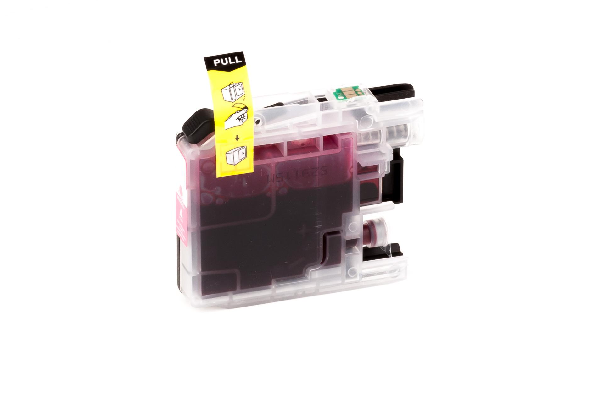 ASC-Premium-Tintenpatrone für Brother MFC-J 4410 DW gelb MFC-J 4410 DW MFC-J4410DW