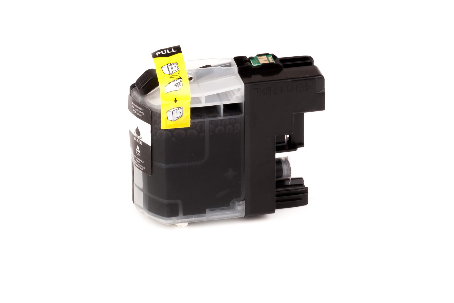 ASC-Premium-Tintenpatrone für Brother MFC-J 4410 DW schwarz MFC-J 4410 DW MFC-J4410DW