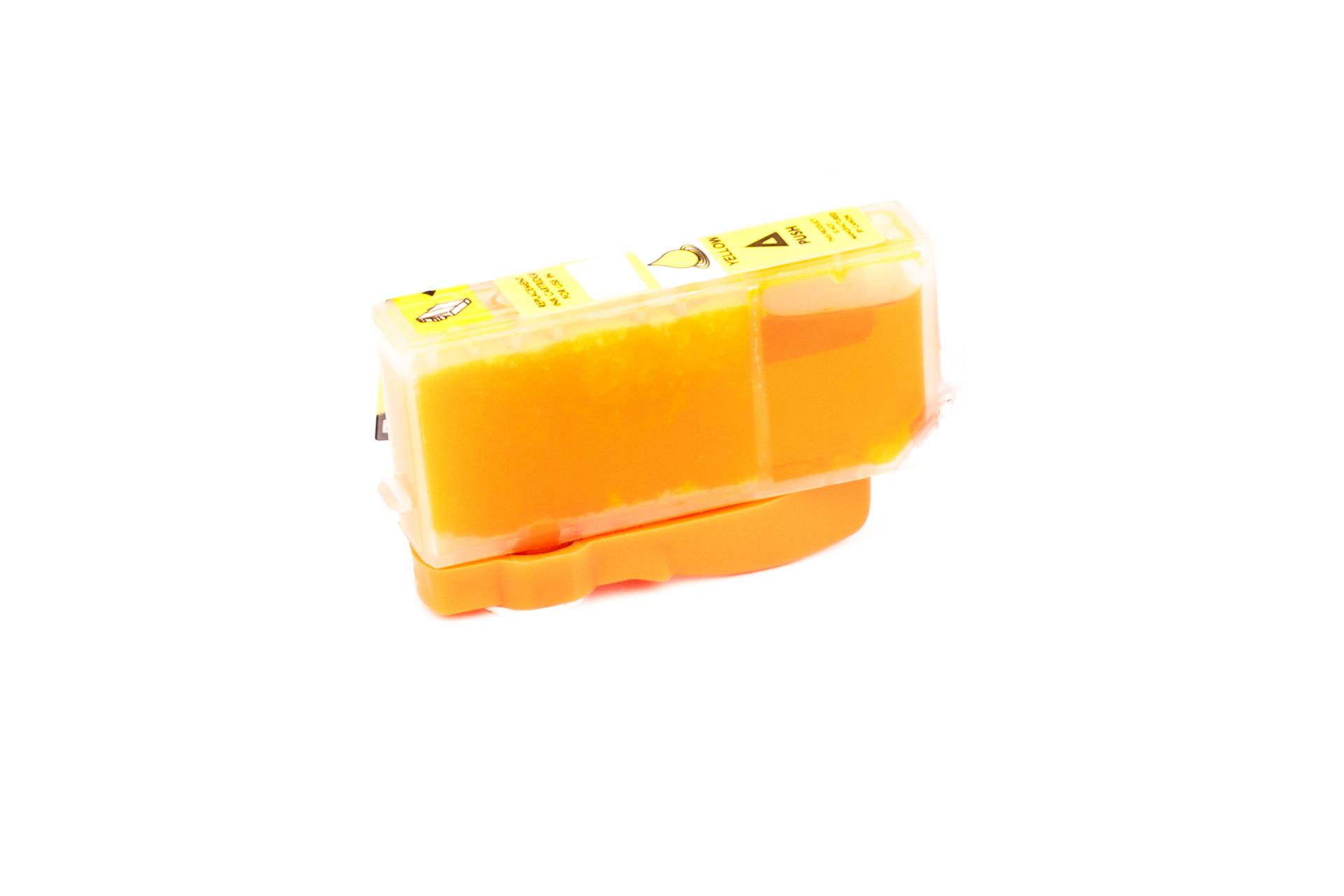 ASC-Premium-Tintenpatrone für Canon Pixma IP 3600 gelb Pixma IP 3600 PixmaIP3600