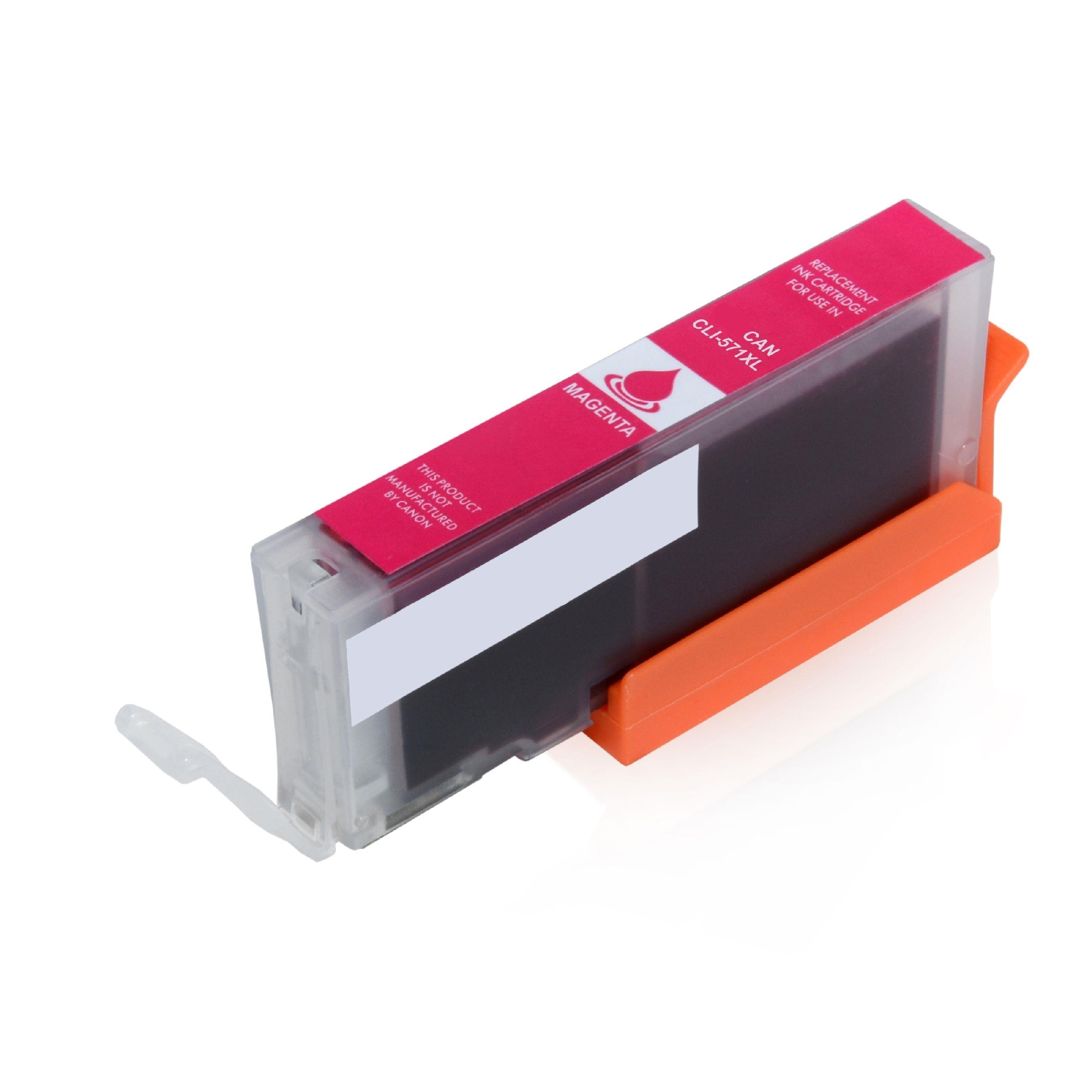ASC-Premium-Tintenpatrone für Canon Pixma MG 5750 magenta Pixma MG 5750 PixmaMG5750
