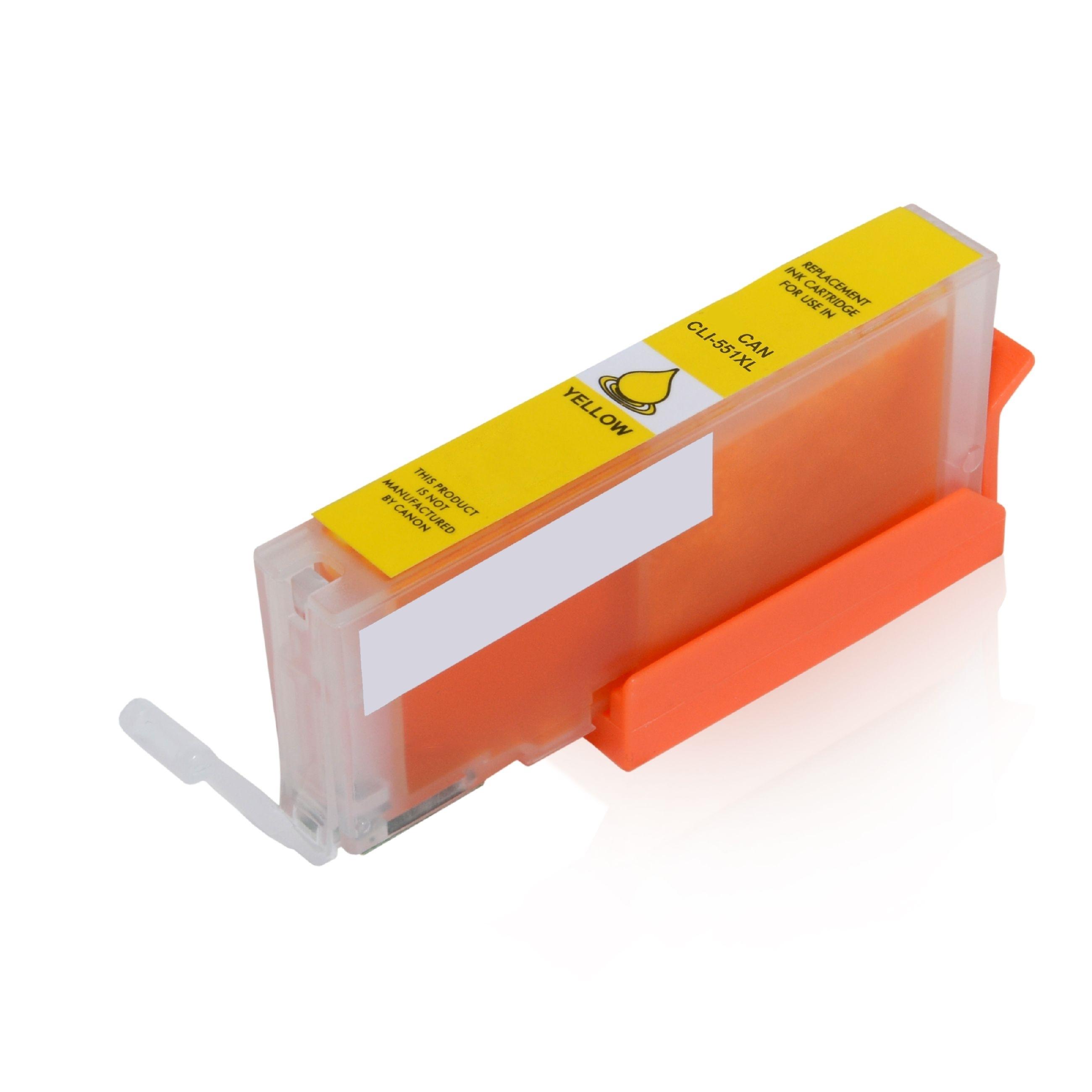 ASC-Premium-Tintenpatrone für Canon Pixma MG 5750 gelb Pixma MG 5750 PixmaMG5750