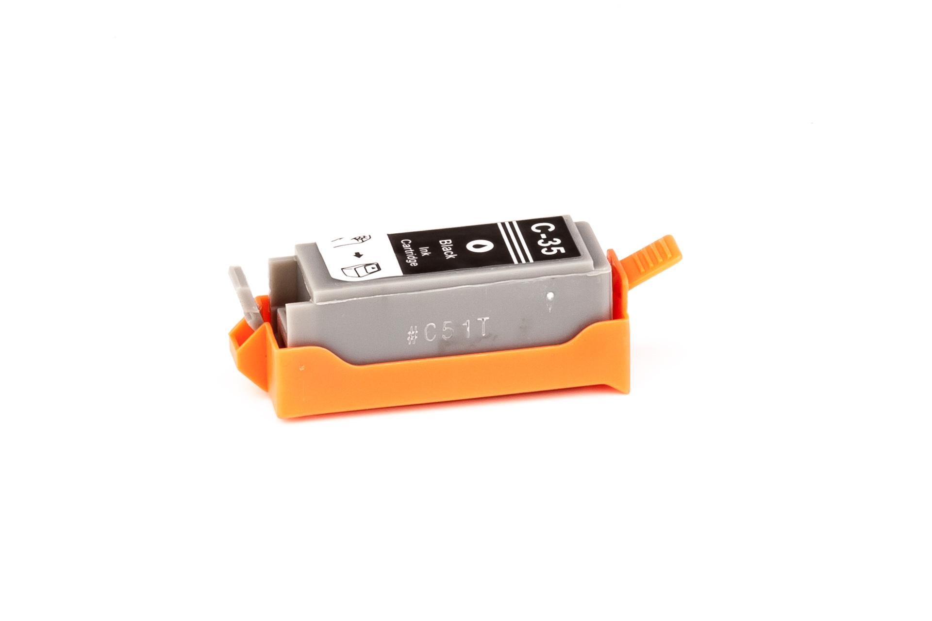 ASC-Premium-Tintenpatrone für Canon Pixma IP 100 Portable schwarz Pixma IP 100 Portable PixmaIP100Portable