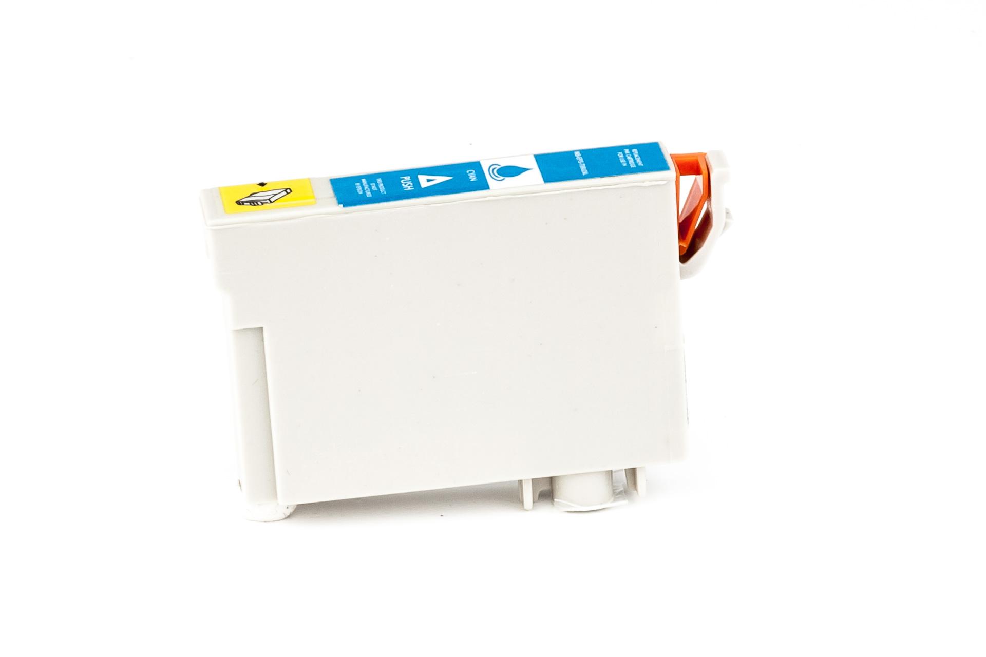 ASC-Premium-Tintenpatrone für Epson Stylus Photo RX 595 cyan XL-Version Stylus Photo RX 595 StylusPhotoRX595