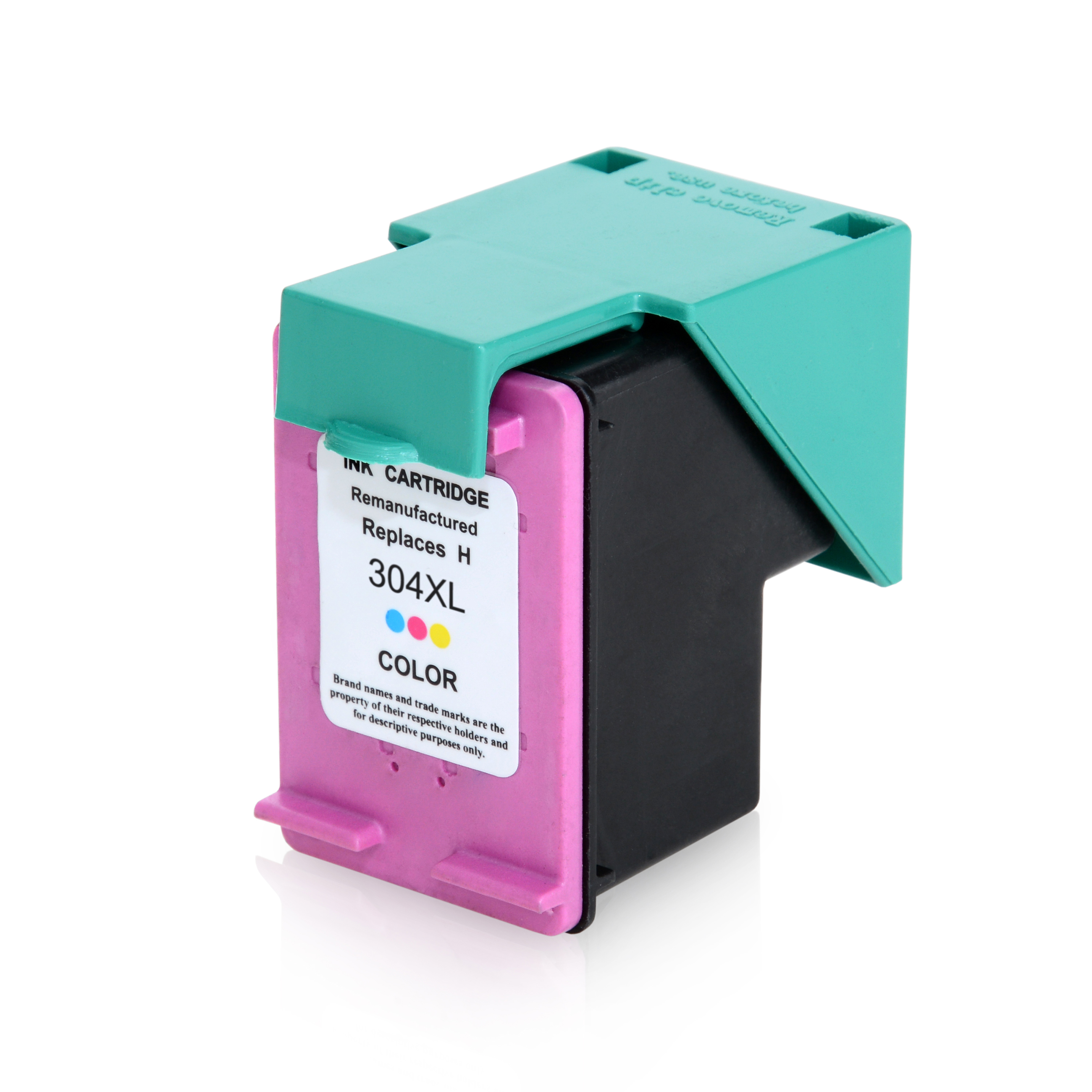 ASC-Premium-Tintenpatrone für HP DeskJet 3720 seagrass color XL-Version DeskJet 3720 seagrass DeskJet3720seagrass