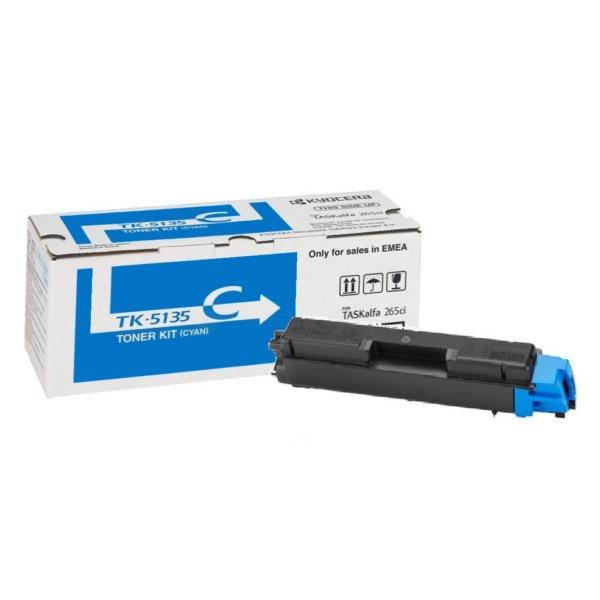 Original Toner Kyocera 1T02PACNL0/TK-5135 C cyan 1T02PACNL0