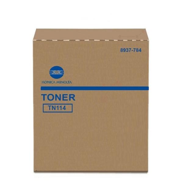Original Toner Konica Minolta 8937784/TN-114 schwarz 8937784